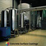 industrial floor coatings around chemical storage tanks