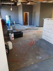 Concrete floor sealer in Melbourne Brewery 6