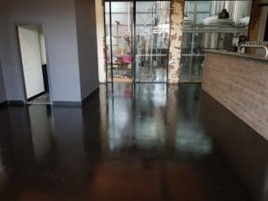 Concrete floor sealer in Melbourne Brewery 10