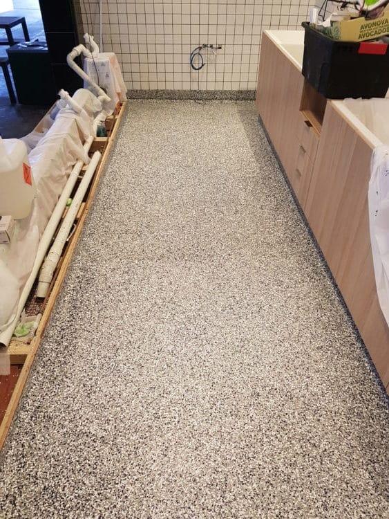 Prahran Commercial Kitchen Flooring 2