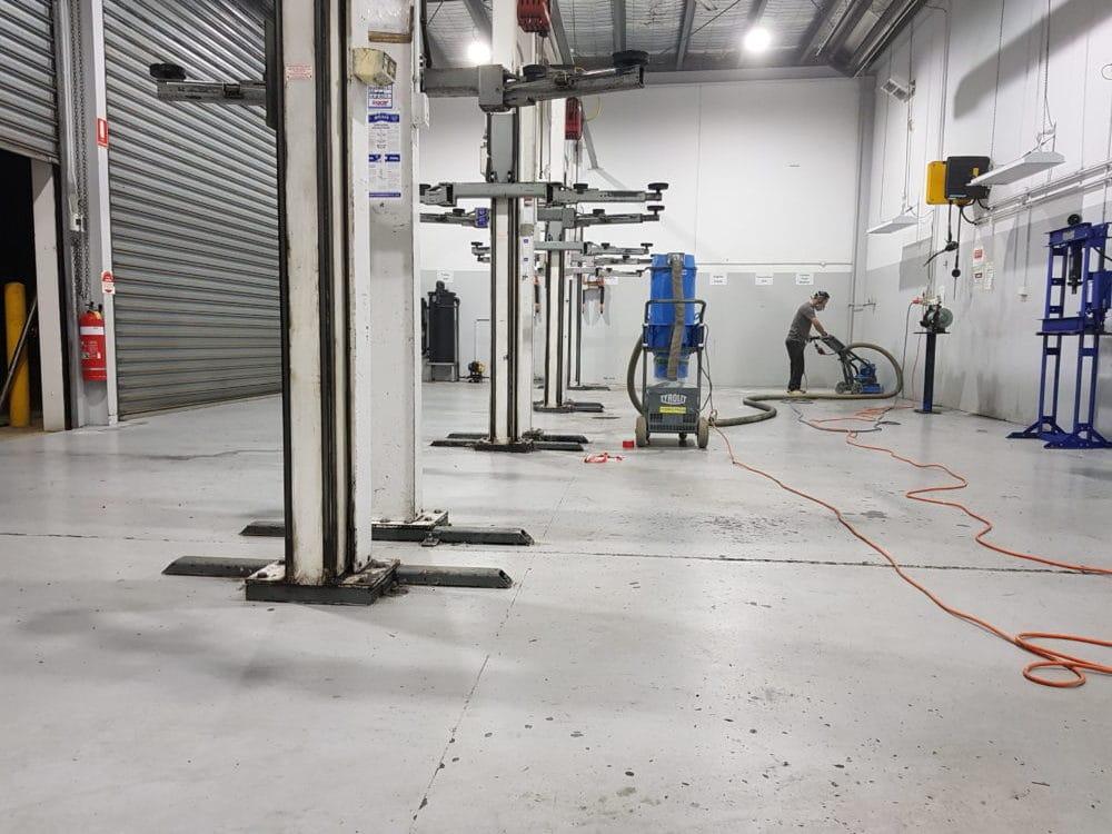 Camberwell Automotive Workshop Epoxy Floor Coating 8