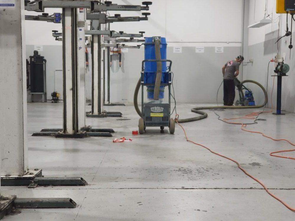 Camberwell Automotive Workshop Epoxy Floor Coating 9