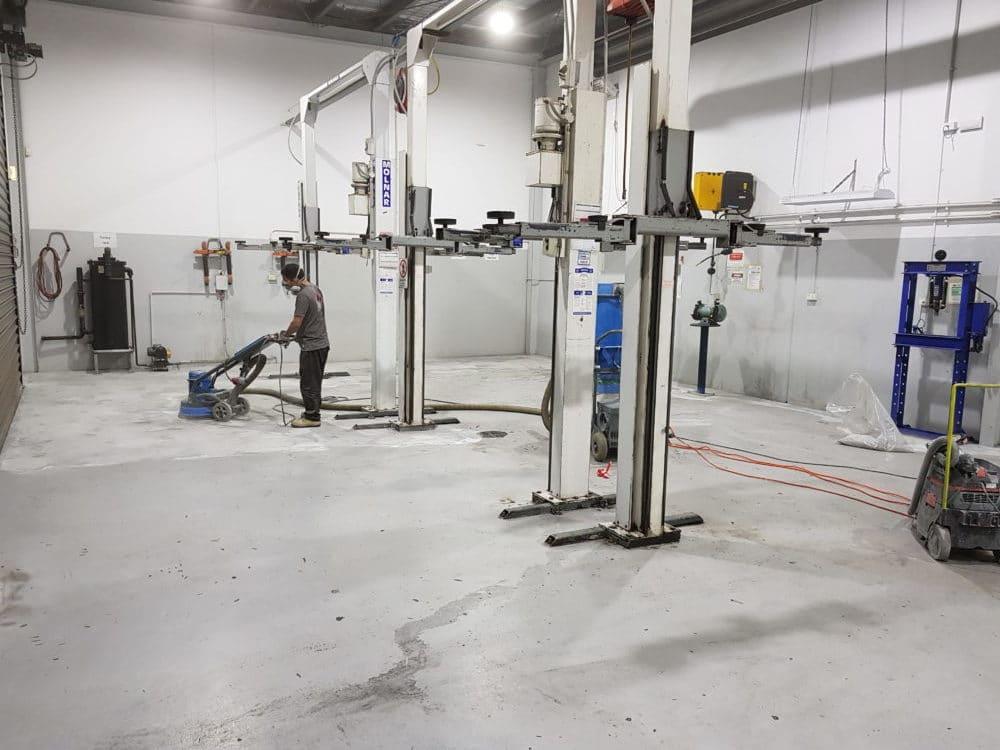 Camberwell Automotive Workshop Epoxy Floor Coating 11