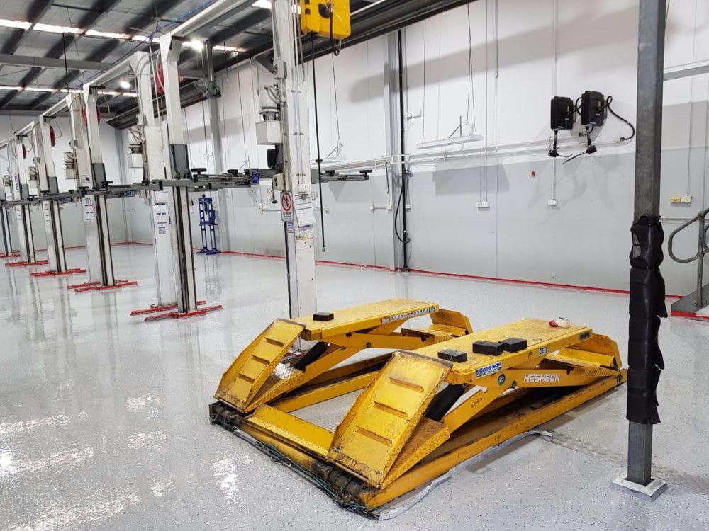 Camberwell Automotive Workshop Epoxy Floor Coating 7