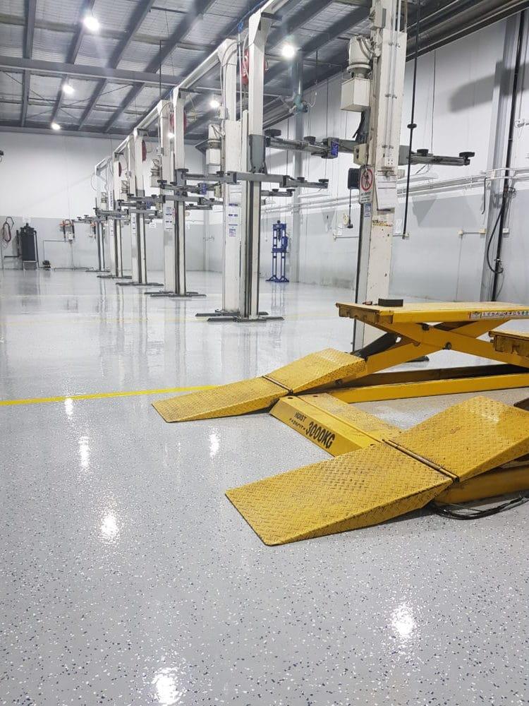 Camberwell Automotive Workshop Epoxy Floor Coating 3