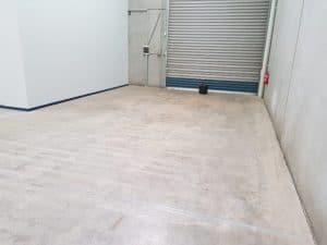 Epoxy floor coating in a Notting Hill automotive workshop 12