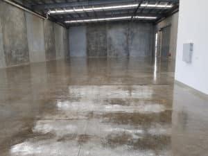 Truganina warehouse floor sealing 2