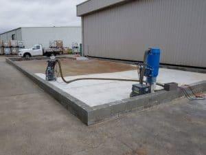Dandenong chemical storage area floor coating 9