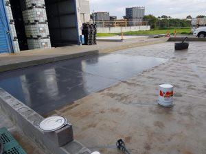 Dandenong chemical storage area floor coating 11