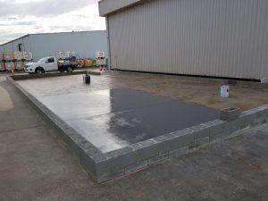 Dandenong chemical storage area floor coating 12