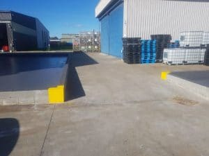 Dandenong chemical storage area floor coating 14