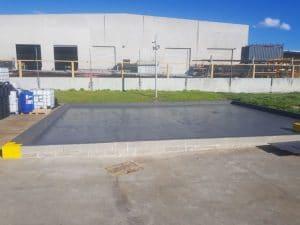 Dandenong chemical storage area floor coating 23
