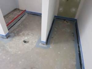 Epoxy flake flooring - Coburg Primary School Toilet Floors Stage 2 7