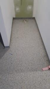 Epoxy flake flooring - Coburg Primary School Toilet Floors Stage 2 5