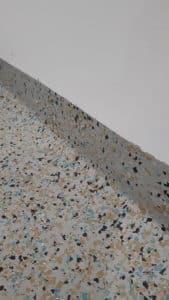 Epoxy flake flooring - Coburg Primary School Toilet Floors Stage 2 4