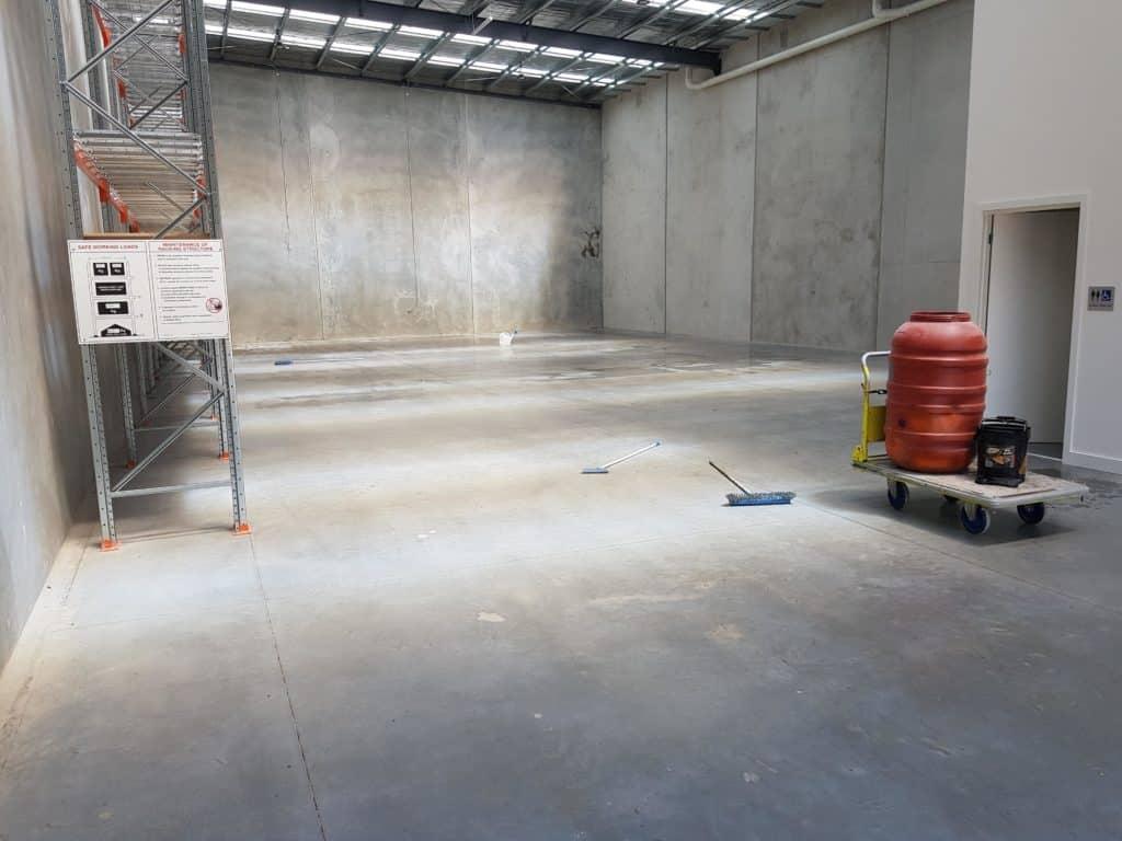 Sunbury Warehouse Concrete Floor Sealer 19