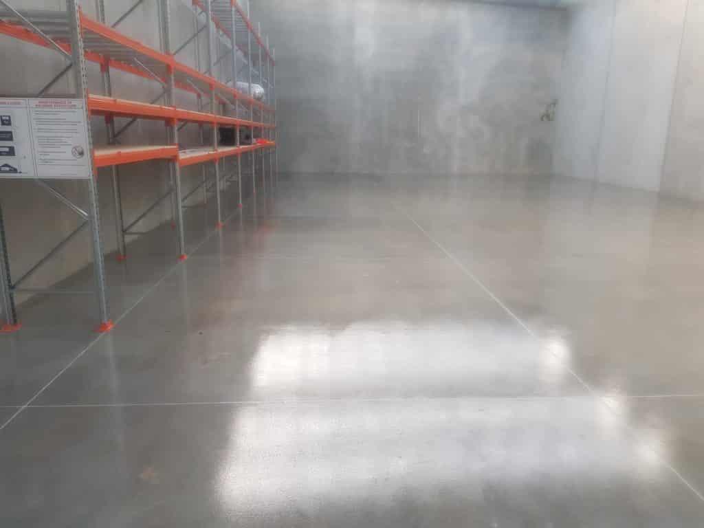Sunbury Warehouse Concrete Floor Sealer 12