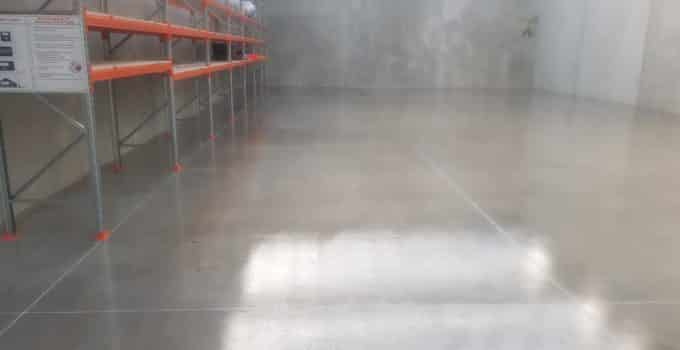 Sunbury Warehouse Concrete Floor Sealer 10