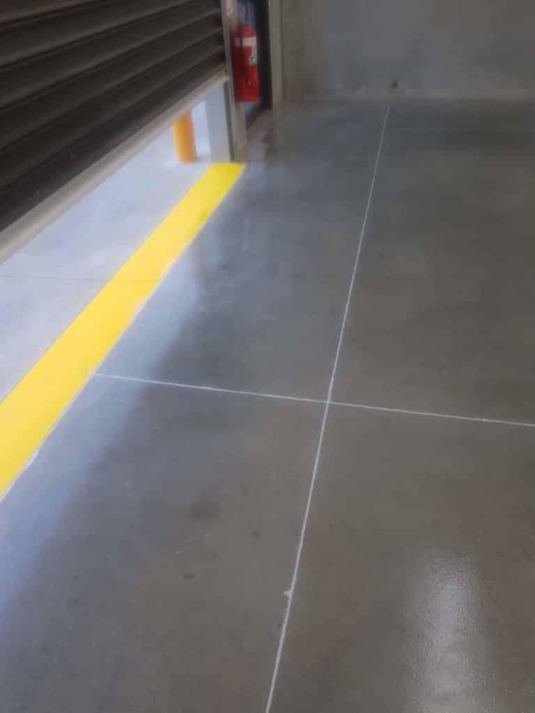 Sunbury Warehouse Concrete Floor Sealer 9