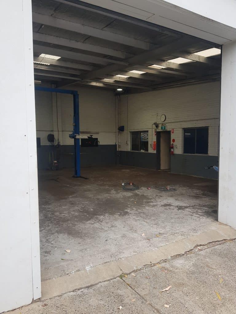 Epoxy Floor Coating in Automotive Workshop in Melbourne 16
