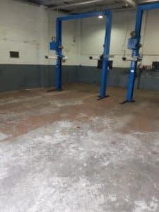 Epoxy Floor Coating in Automotive Workshop in Melbourne 14