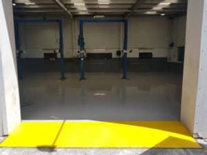 Epoxy Floor Coating in Automotive Workshop in Melbourne 7