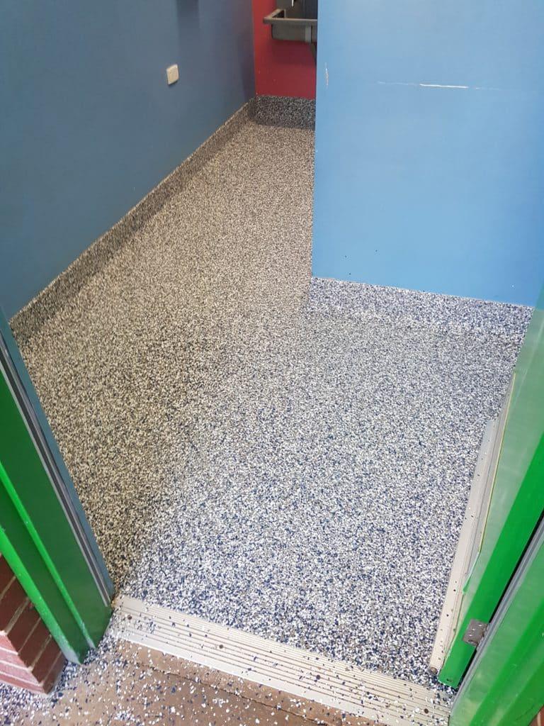 School Toilet Flooring in Lancefield Victoria 3
