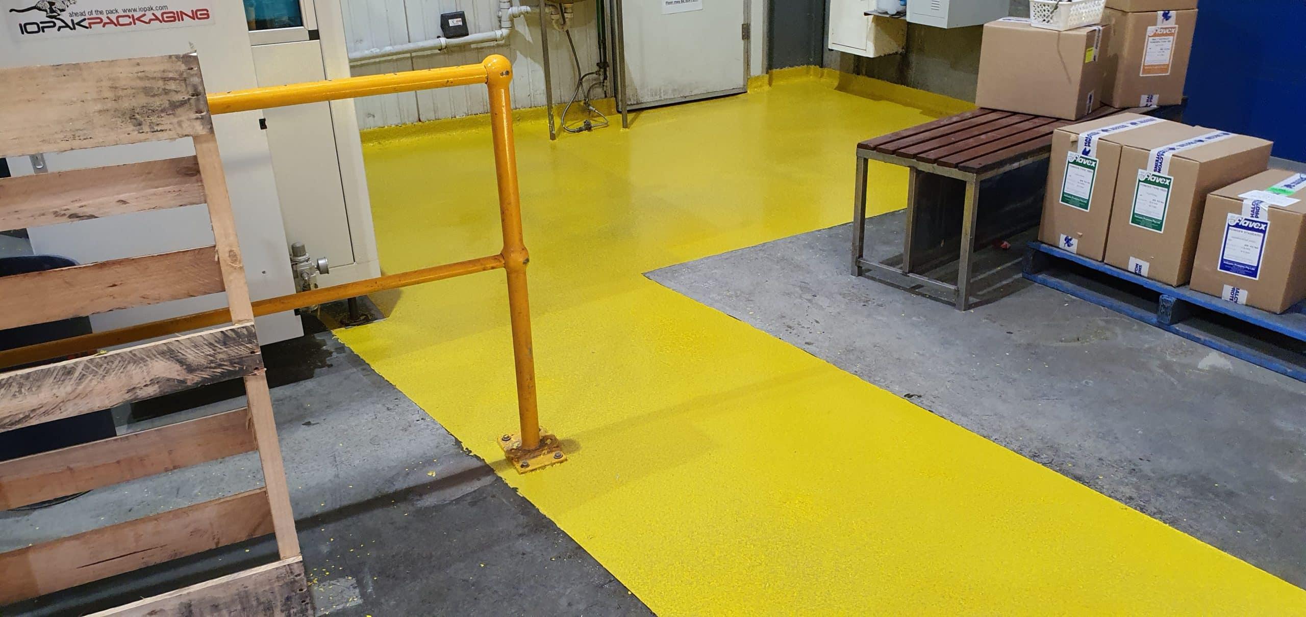 Dandenong Food Storage Warehouse Floor Coating 21