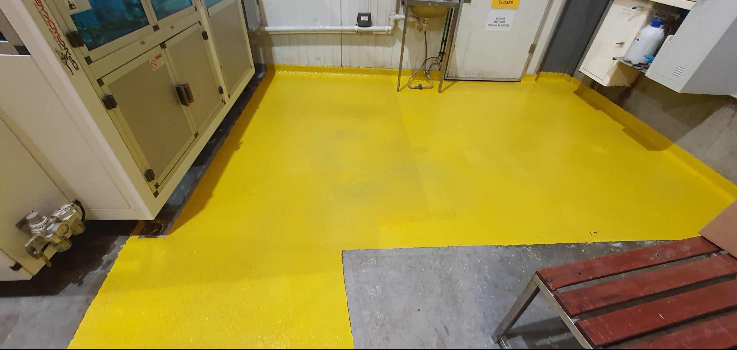 Dandenong Food Storage Warehouse Floor Coating 2
