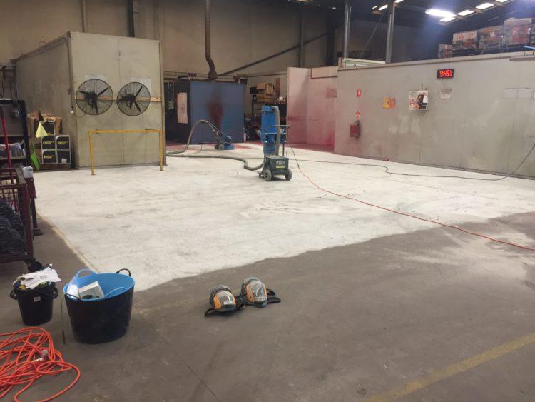 Keysborough Manufacturing Plant - Heavy Duty Epoxy Floor Coating 3