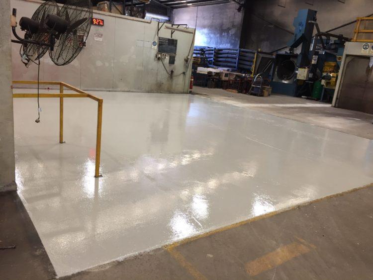 Keysborough Manufacturing Plant - Heavy Duty Epoxy Floor Coating 2