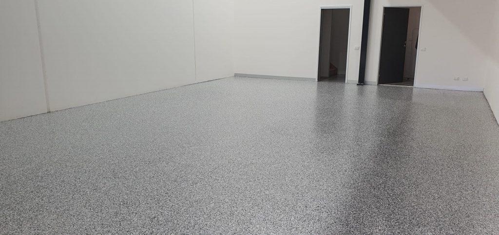 Nunawading Warehouse Epoxy Vinyl Flake Flooring 7